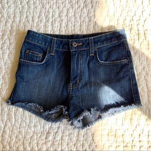 LF Carmar High Rose Denim Shorts